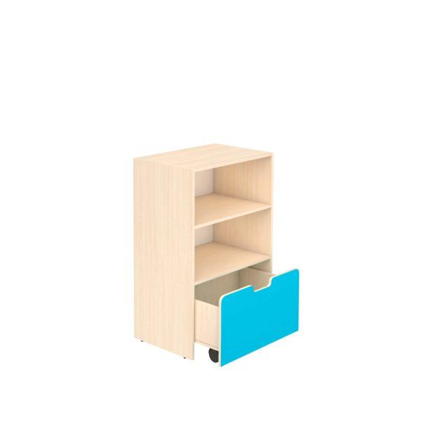 Шкаф для игровых материалов 3- ярусный открытый