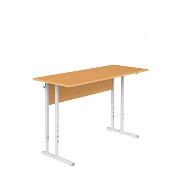 Столы ученические регулируемые двухместные