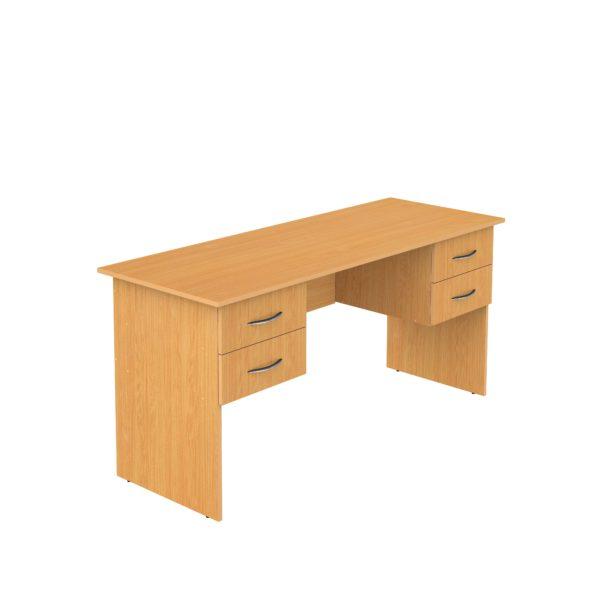 стол письменный учительский двухтумбовый
