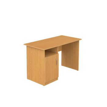 стол письменный учительский с тумбой