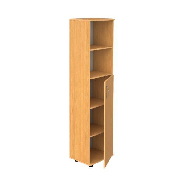 Шкаф 5-уровневый узкий полуоткрытый