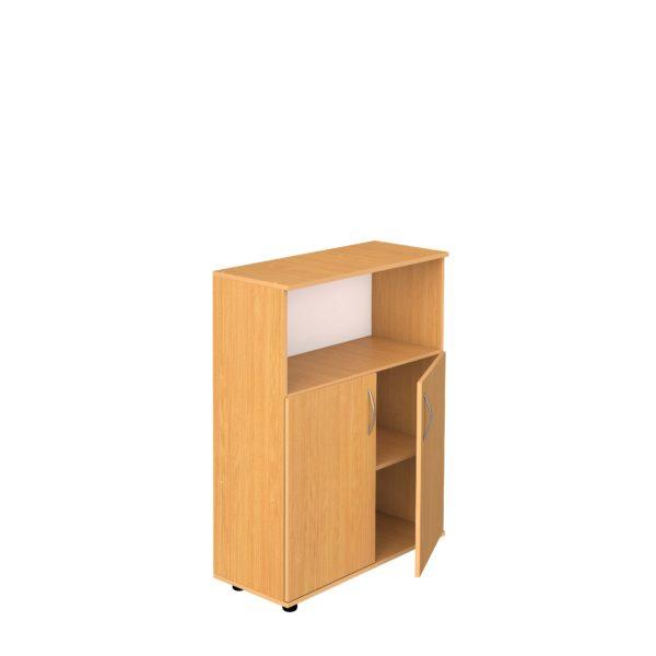 Шкаф 3-уровневый полуоткрытый