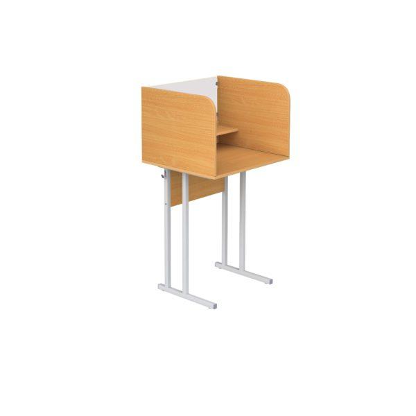 Одноместный стол для кабинета иностранного языка