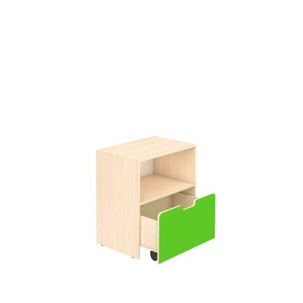 Шкаф для игровых материалов 2- ярусный открытый