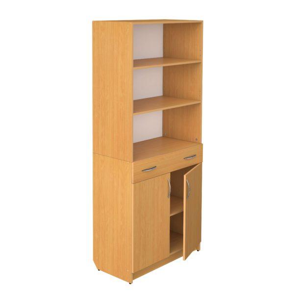 Шкаф полуоткрытый с ящиком