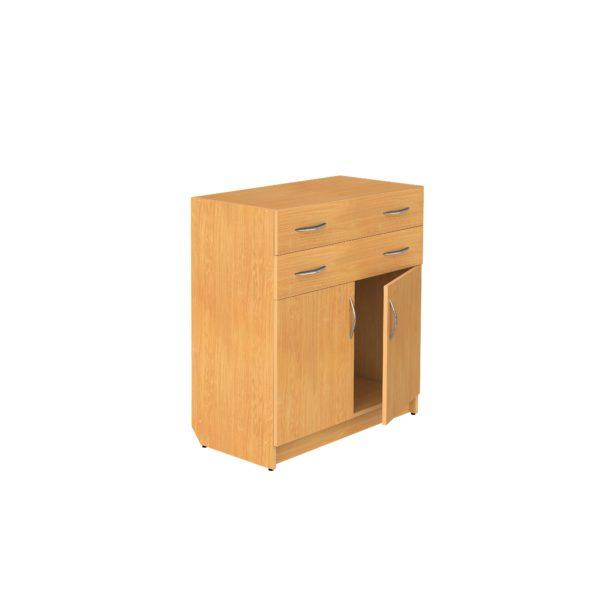 Секция нижняя закрытая с 2-мя ящиками