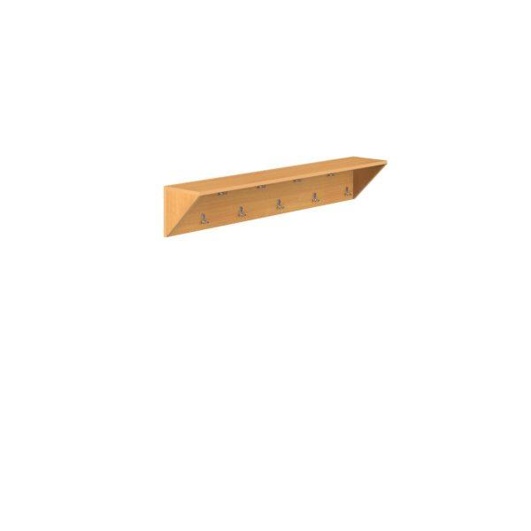 вешалка настенная деревянная