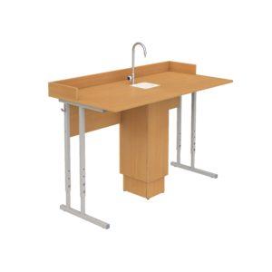 стол для кабинета химии регулируемый
