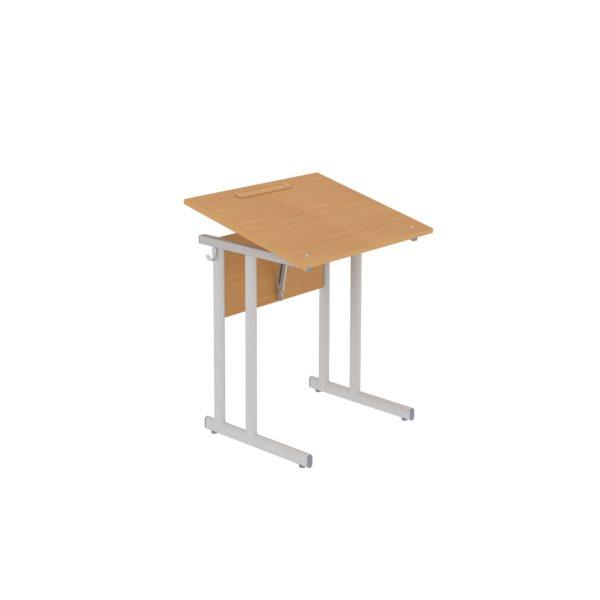 Столы ученические нерегулируемые одноместные с наклоном крышки 0°-35°