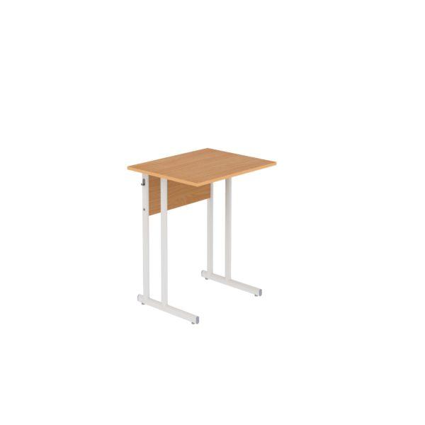 Столы ученические нерегулируемые одноместные на плоскоовальной трубе