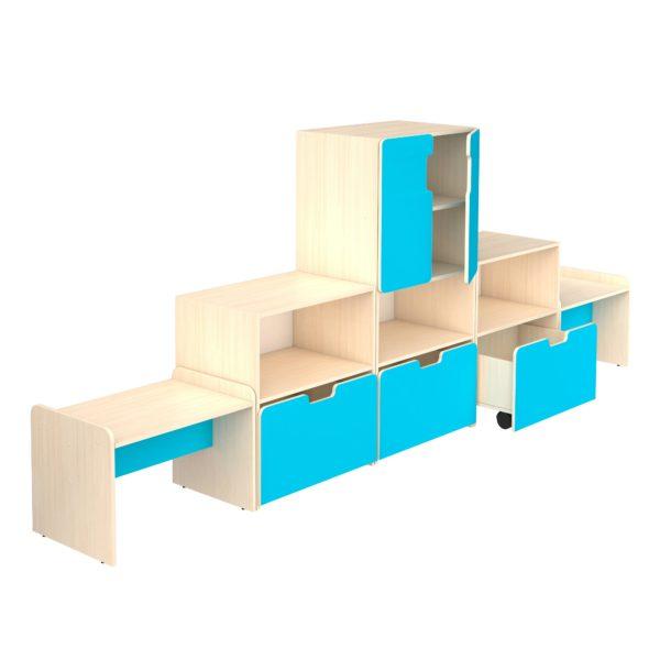 детская групповая мебель композиции1