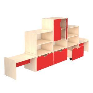 детская групповая мебель композиции