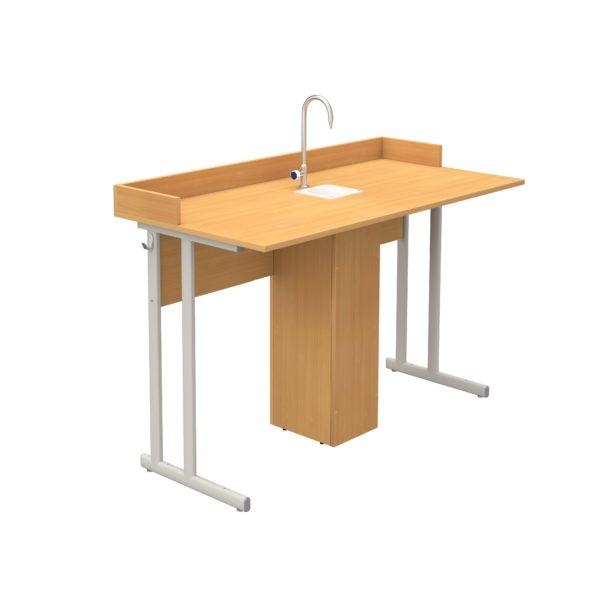 Стол ученический лабораторный для кабинета химии