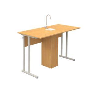 школьный стол для класса химии